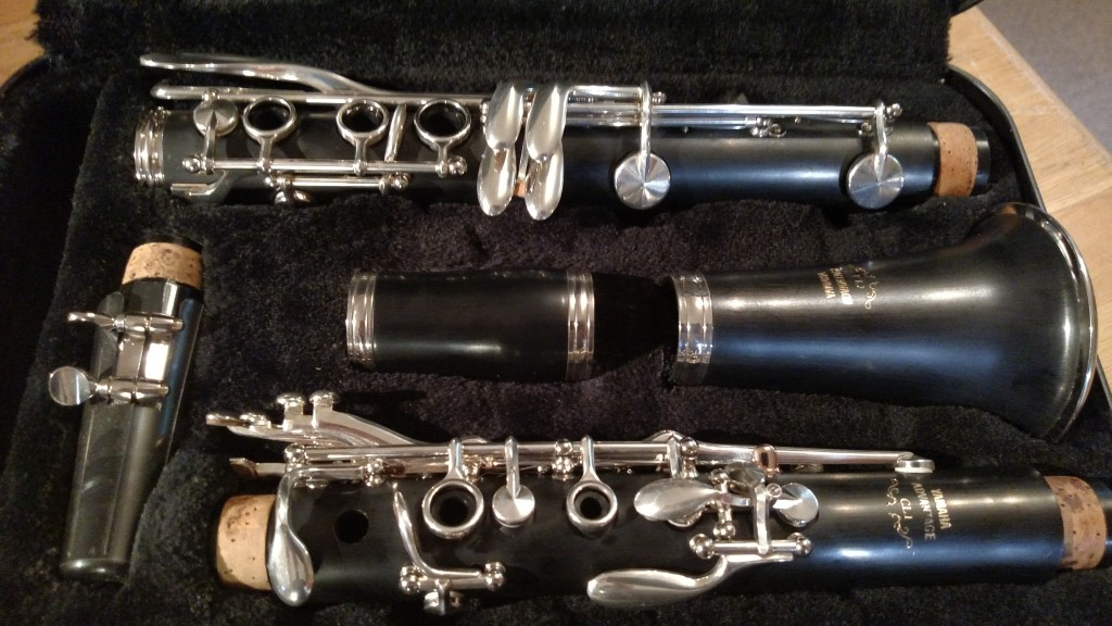 "Yamaha ""YCL-CL1"" Clarinet – Sold"