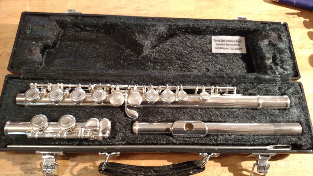 yamaha yfl 221 flute sold elswick band instrument repair