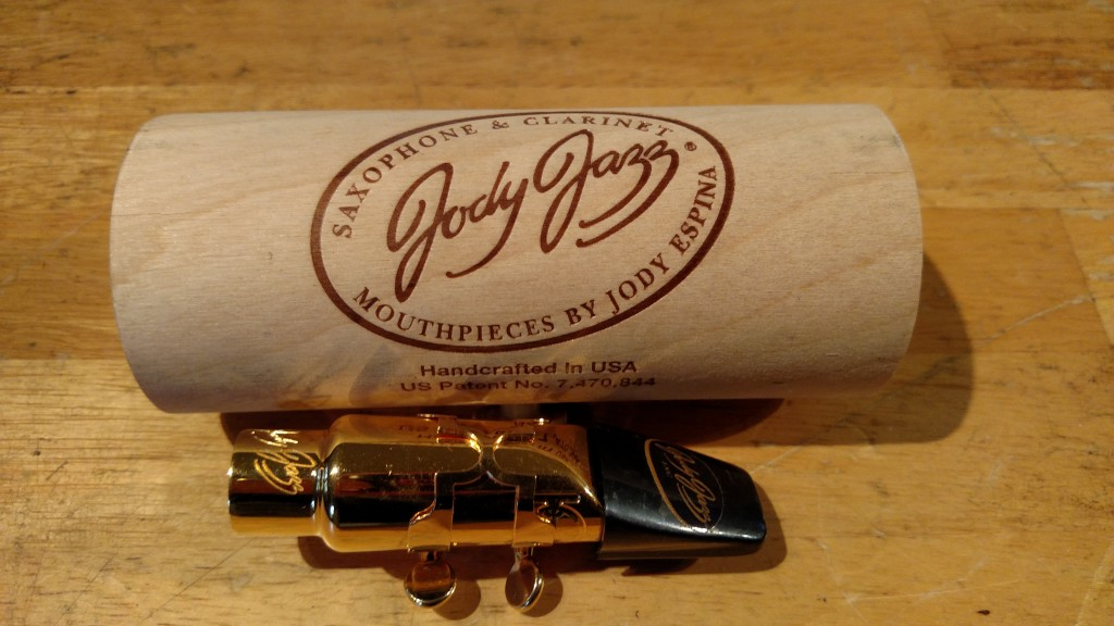 "Jody Jazz ""DV"" Alto Sax Mouthpiece #6 – SOLD"