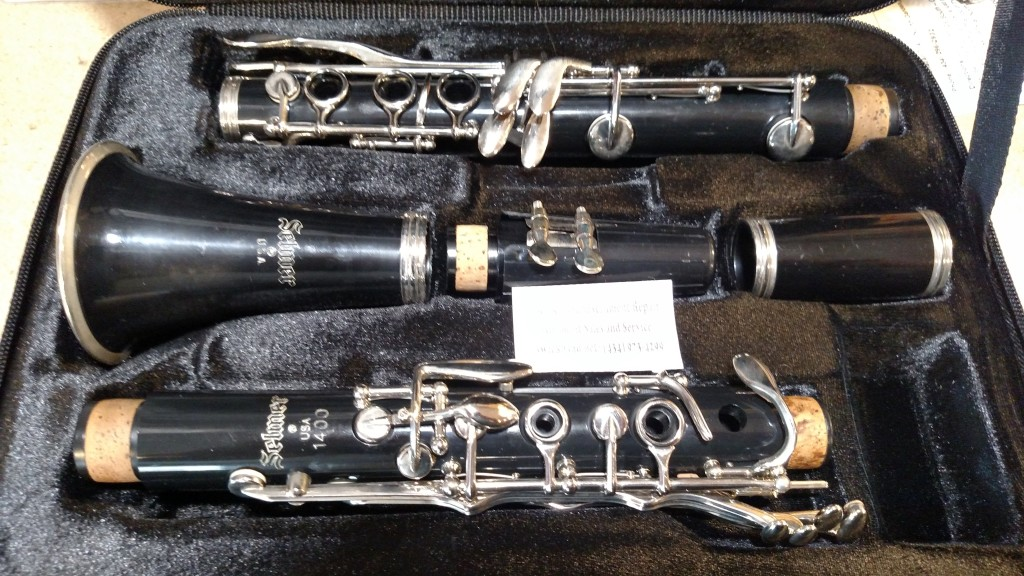 "Selmer ""1400"" Clarinet – SOLD"