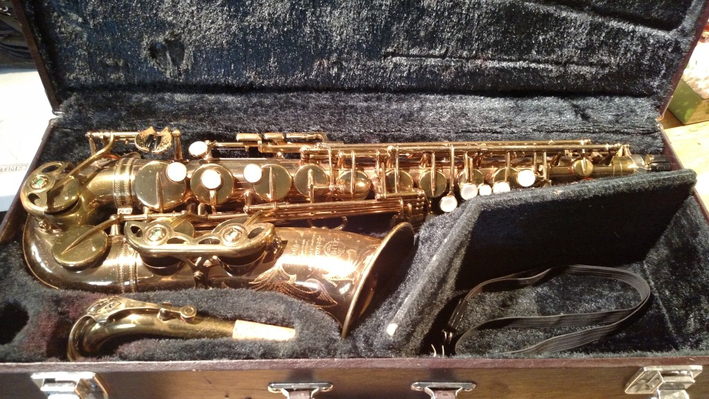 "Selmer ""Mark VI"" Alto Sax – SOLD"