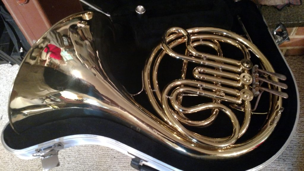 "Conn ""14D"" Single French Horn"