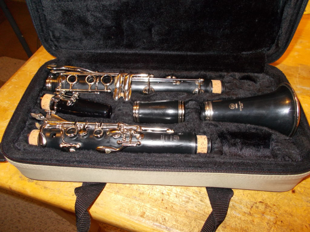 "Yamaha ""YCL-250"" Clarinet – SOLD"