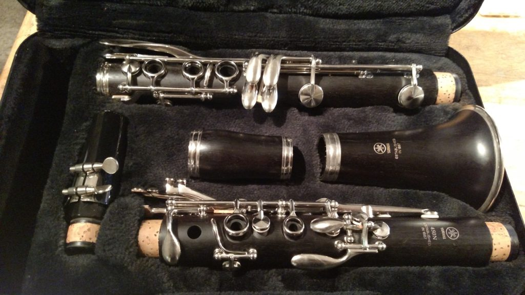 "Yamaha ""YCL-450"" Clarinet – SOLD"