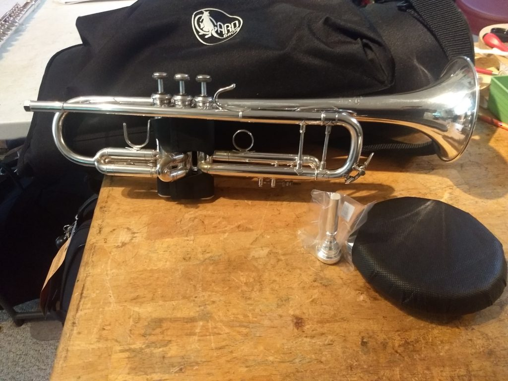 Silver Trumpets For Sale : bach stradivarius trumpet model 37 silver professional model elswick band instrument repair ~ Hamham.info Haus und Dekorationen